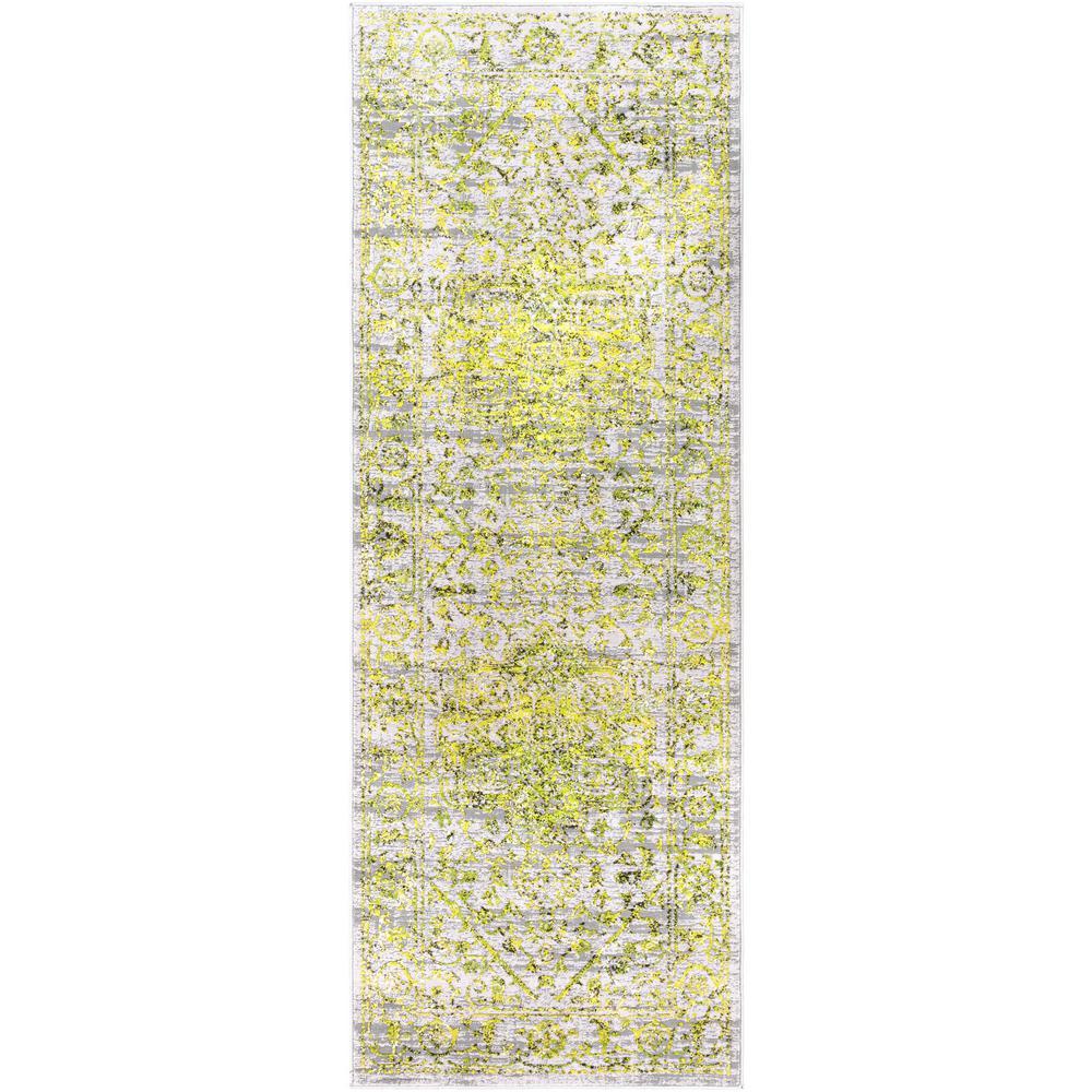 Everest Yellow 2 ft. 7 in. x 7 ft. 3 in. Oriental Runner Rug