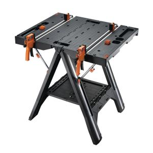 Worx Pegasus Multi-Function Work Table and Sawhorse with Quick Clamps and... by Worx