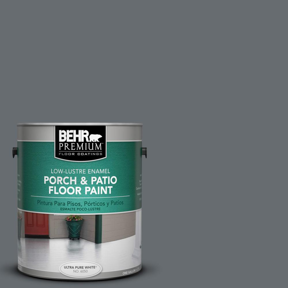1 gal. #770F-5 Dark Ash Low-Lustre Porch and Patio Floor Paint