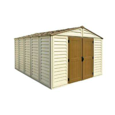 WoodBridge Plus 10.5 ft. x 13 ft. Vinyl Storage Shed