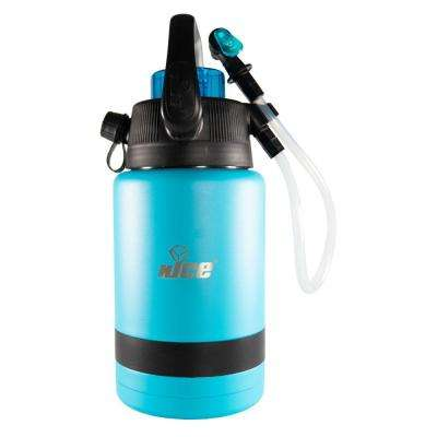 Pump2Pour 1 Gal. Blue Insulated Jug With Hose and Spout