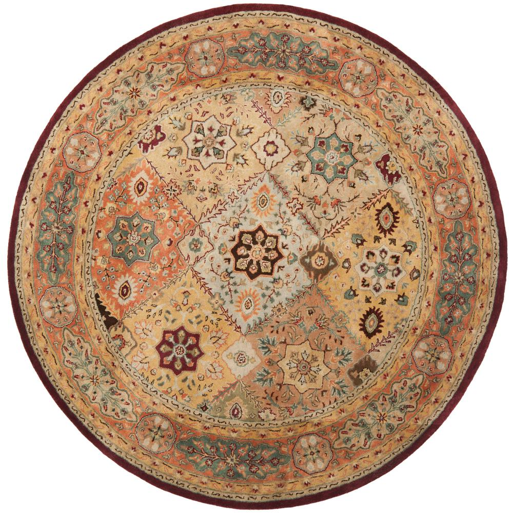 Safavieh Persian Legend Red/Rust 8 ft. x 8 ft. Round Area Rug