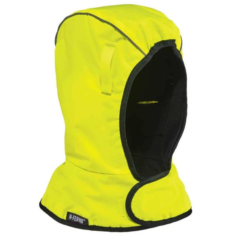 N-Ferno 6842 Shoulder Lime 2-Layer Econo Winter Hard Hat Liner