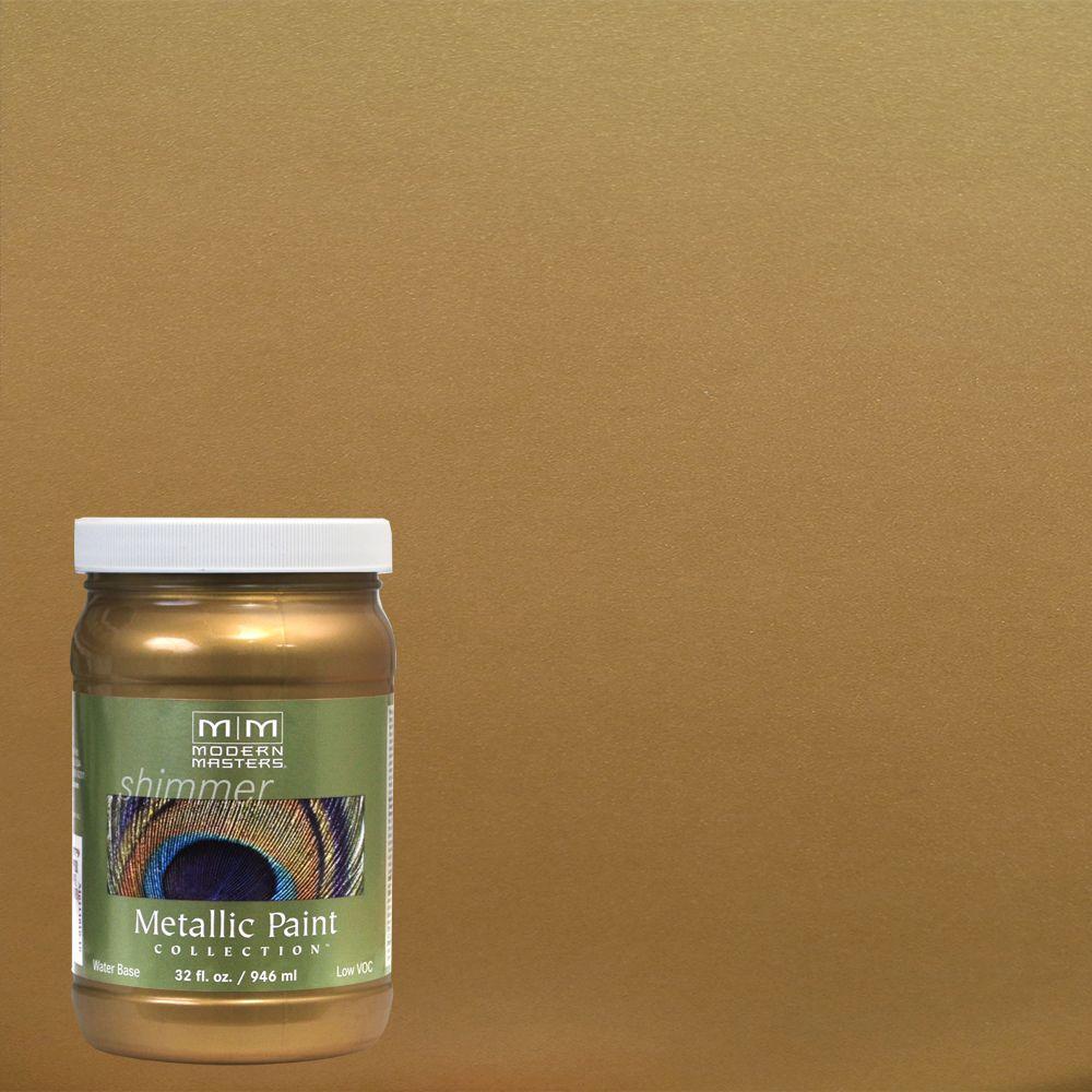 1 qt. Brass Metallic Interior/Exterior Paint