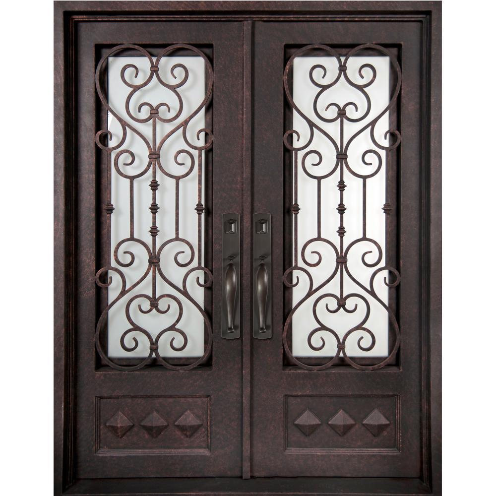Iron Doors Unlimited 62 In X 97 5 In Vita Francese