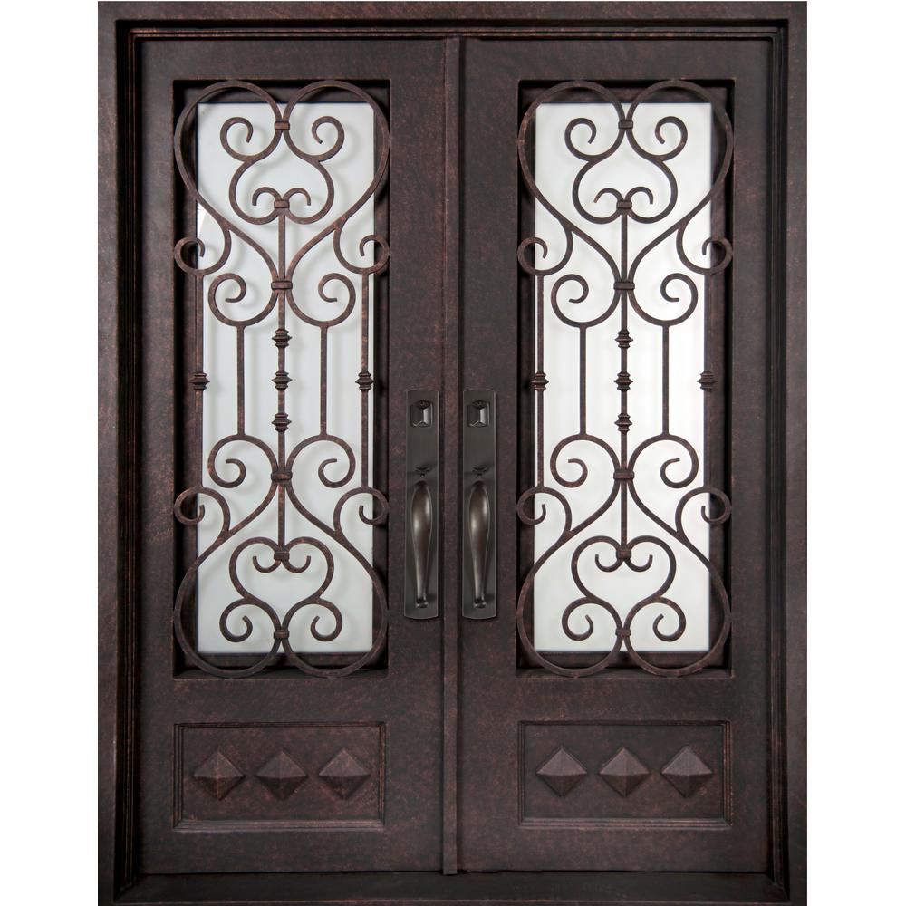 Iron Doors Unlimited 62 In X 97 5 In Vita Francese