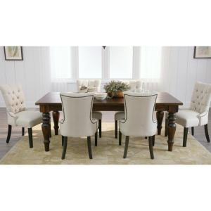 Internet 304284688 3 Home Decorators Collection Walton Antique Walnut Dining Table