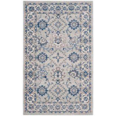 Artisan Silver/Ivory 3 ft. x 5 ft. Area Rug