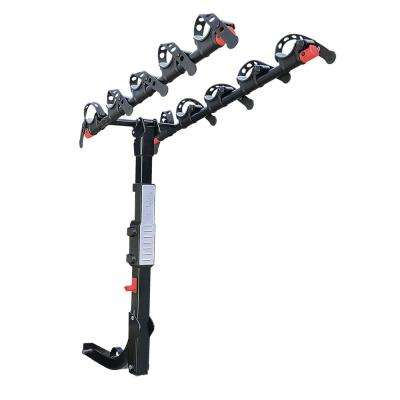 175 lbs. Capacity 5-Bike Vehicle 2 in. Hitch Bike Rack