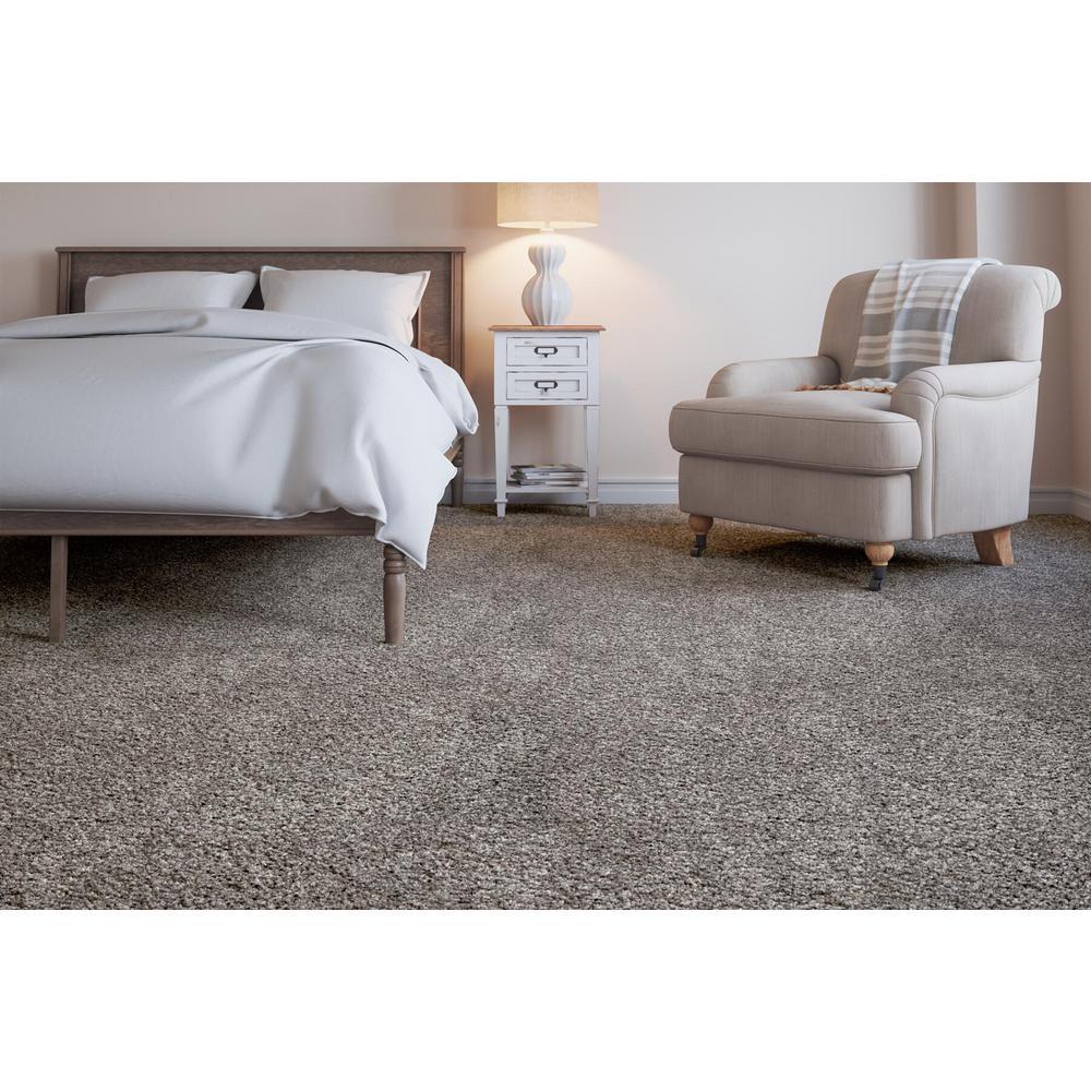 Collinger II-Color Meandering Textured 12 ft. Carpet