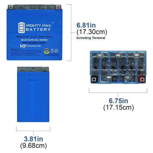 10 Pack Brand Product Mighty Max Battery 12V 8Ah Eaton Powerware PW3110-250 PW3110-425 UPS Battery