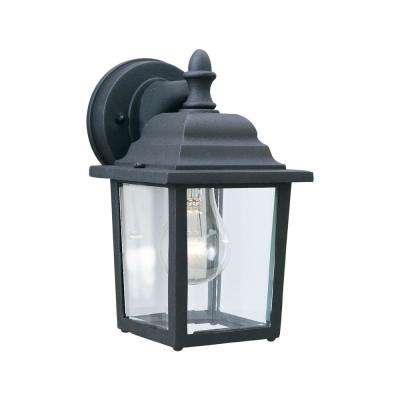 Hawthorne 1-Light Black Outdoor Wall Mount Lantern