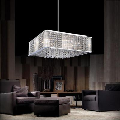 Sarina 12-Light Chrome Chandelier