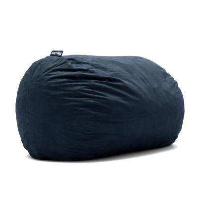 XL FUF Shredded Ahhsome Foam Cobalt Lenox Bean Bag