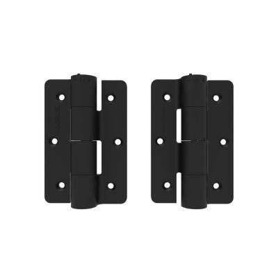 3-1/8 in. x 4-7/8 in. Black Standard Butterfly Hinge (2 piece)