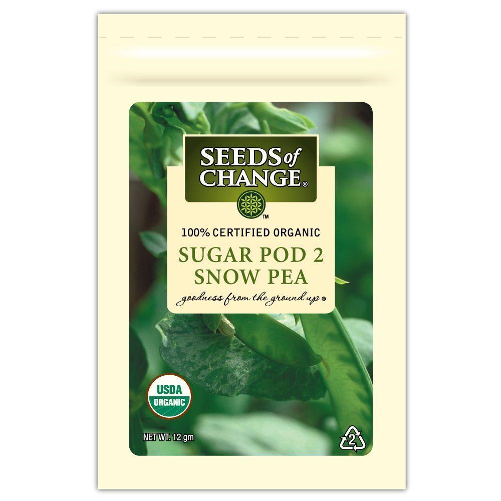 Seeds of Change Pea Sugar Pod 2 (1-Pack)