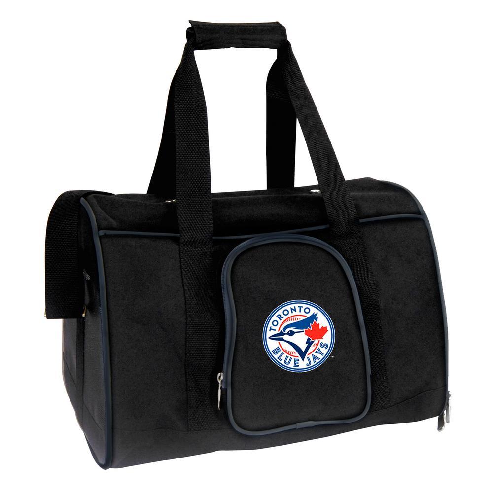 MLB Toronto Blue Jays Pet Carrier Premium 16 in. Bag in Navy