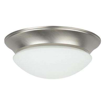Monterey 2-Light White Flush Mount