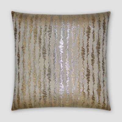 Pluse Feather Down 20 in. x 20 in. Standard Decorative Throw Pillow