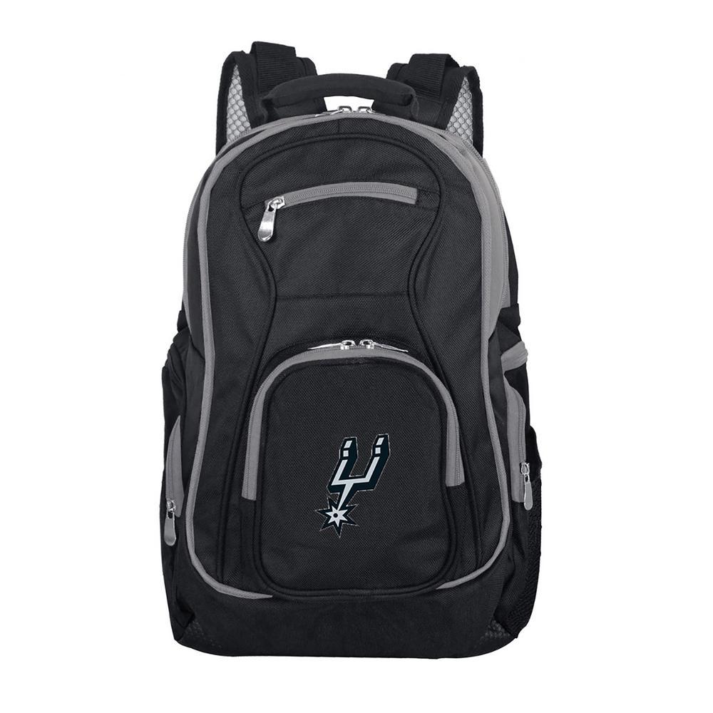 NBA San Antonio Spurs 19 in. Black Trim Color Laptop Backpack