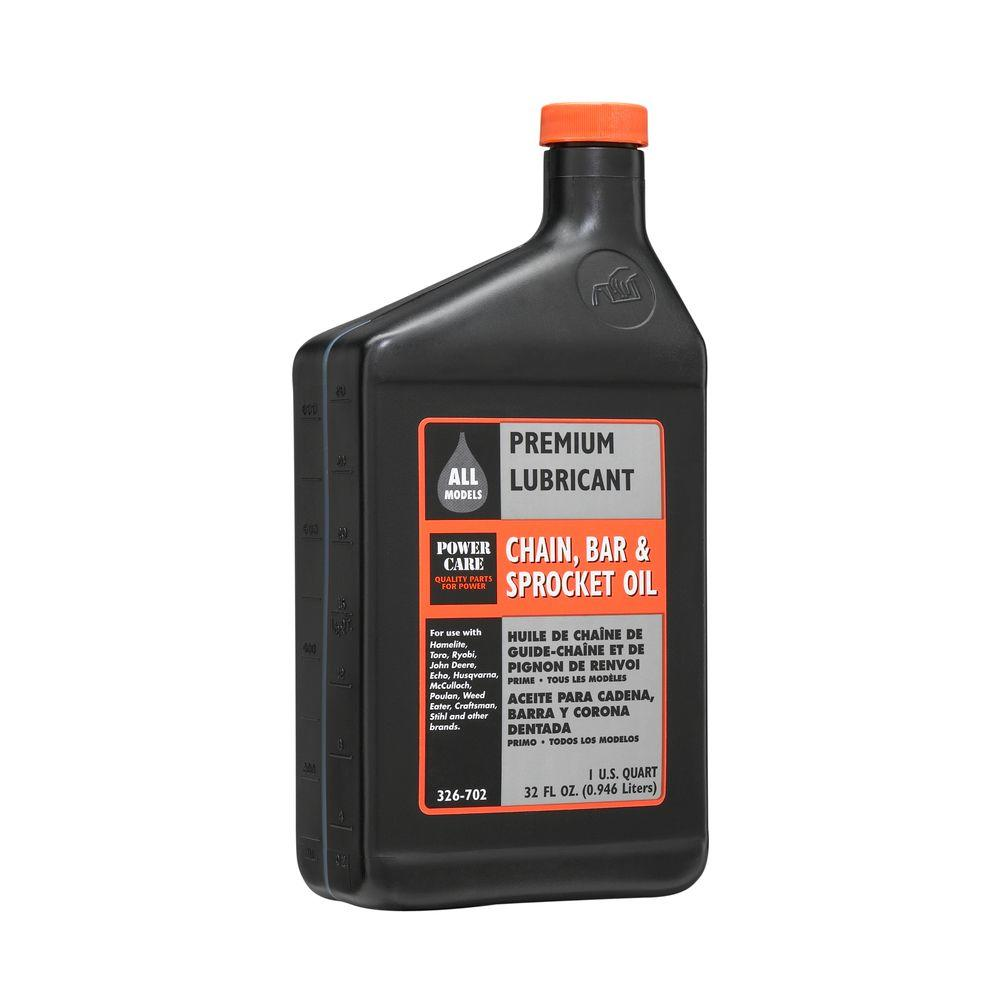 Care 1 Qt Bar And Chain Oil