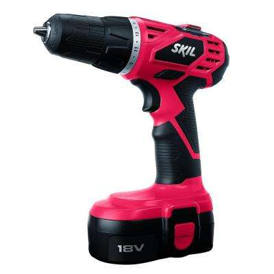 Factory Reconditioned Ni-Cad Cordless Electric 3/8 in. Variable Speed Compact Drill/Driver Kit