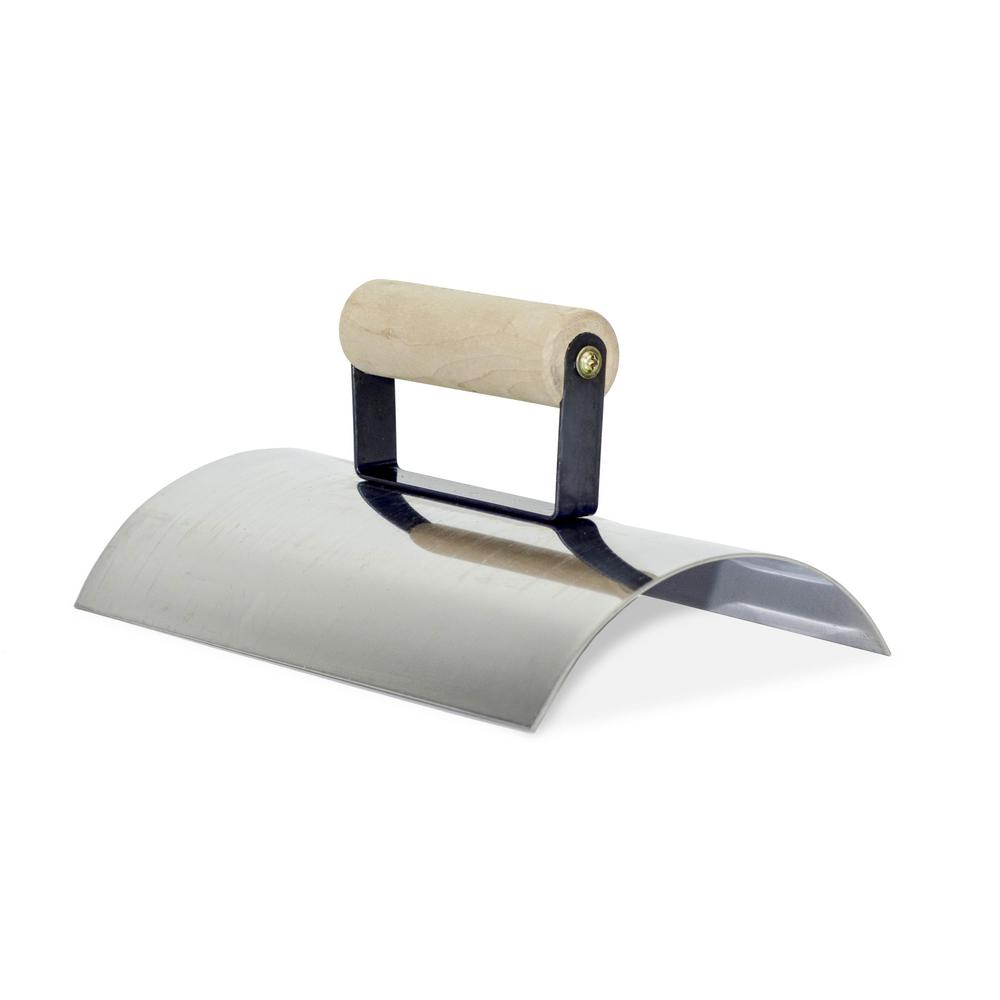 10 in. x 6 in. Stainless Steel Wall Capping Edger with
