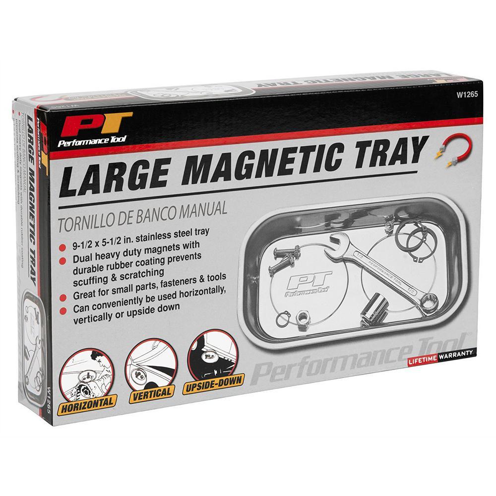 1-Compartment Small Parts Organizer Silver