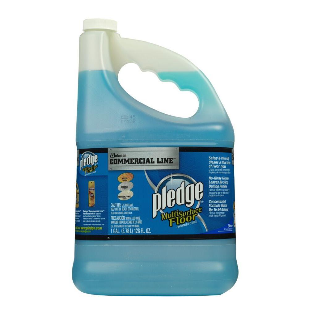 Pledge 128 oz. Commercial Line Multi-Surface Floor Cleaner (4-Pack)