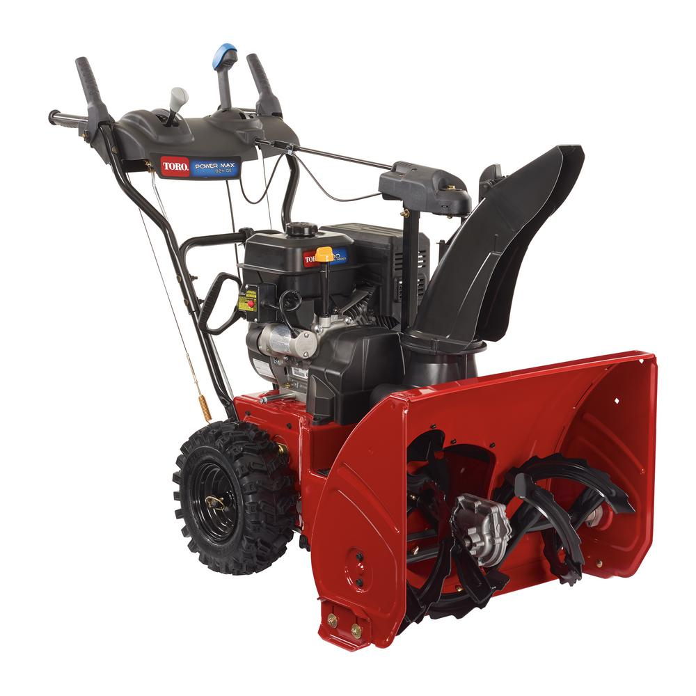 Toro power max 824 oe 24 in 252cc two stage electric start gas toro power max 824 oe 24 in 252cc two stage electric start gas snow blower 37793 the home depot sciox Image collections