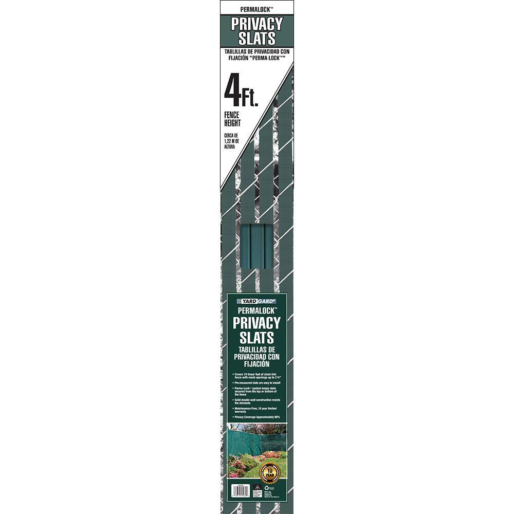 4 ft. H x 10 ft. W Green Perma-Lock Double Wall