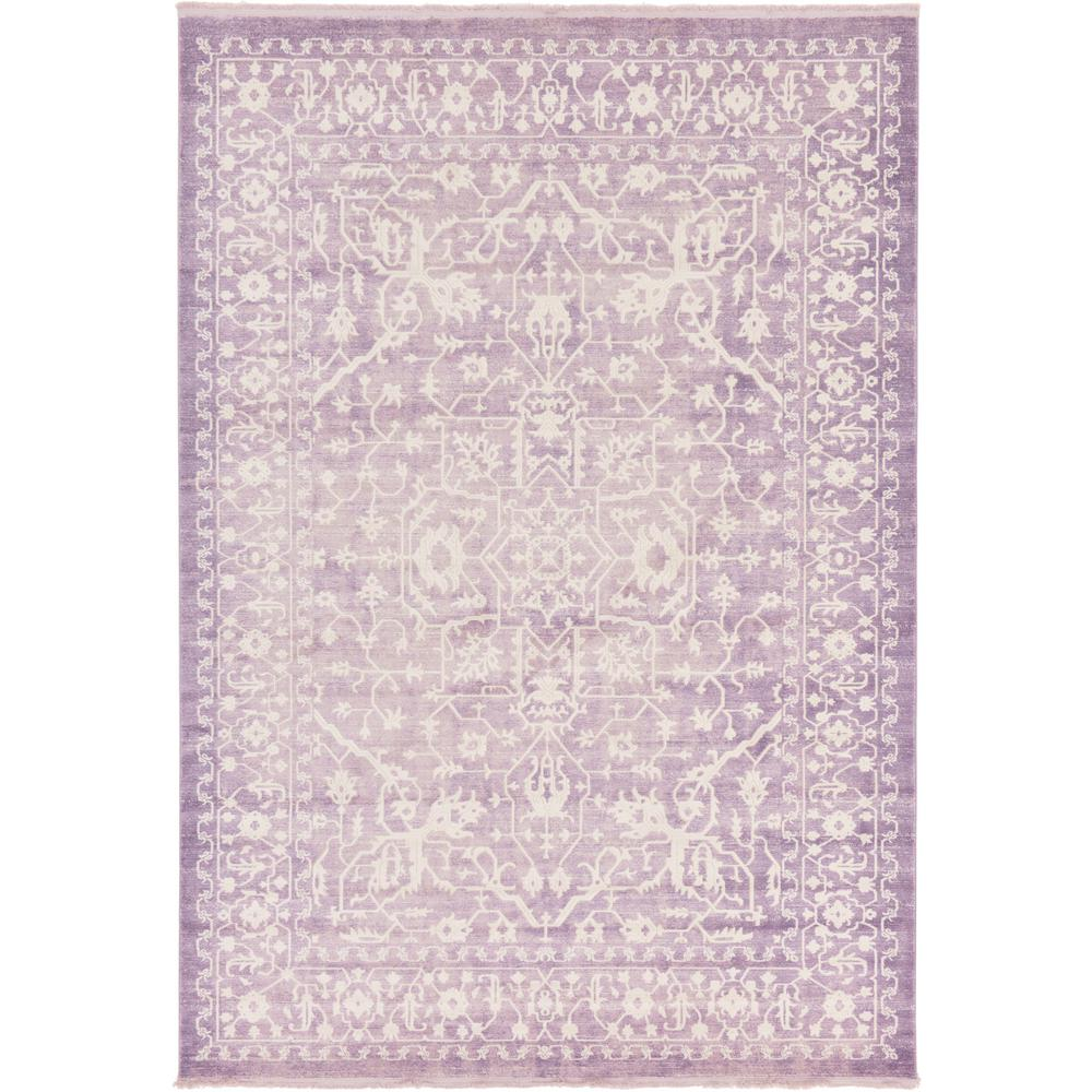 Unique Loom New Classical Olympia Purple 8' 0 x 11' 4 Area Rug