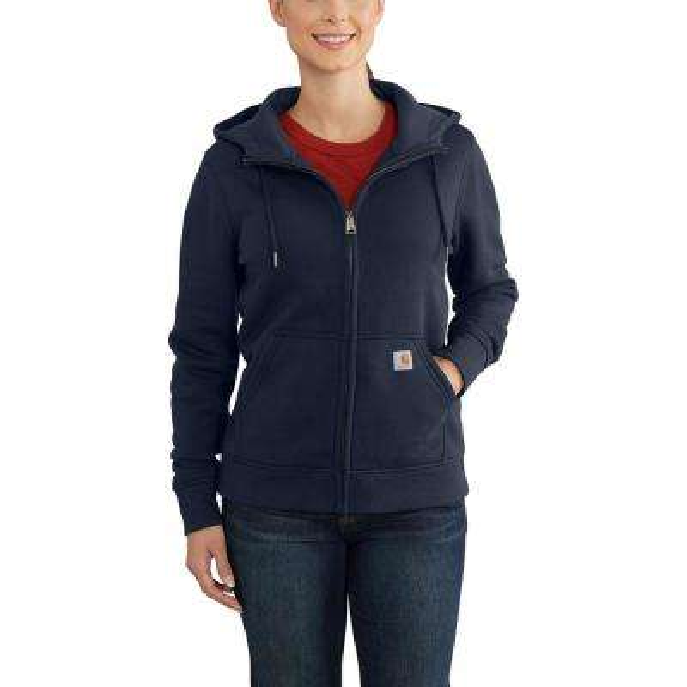 Women's X-Large Navy Cotton/Polyester Clarksburg Full Zip Hoodie