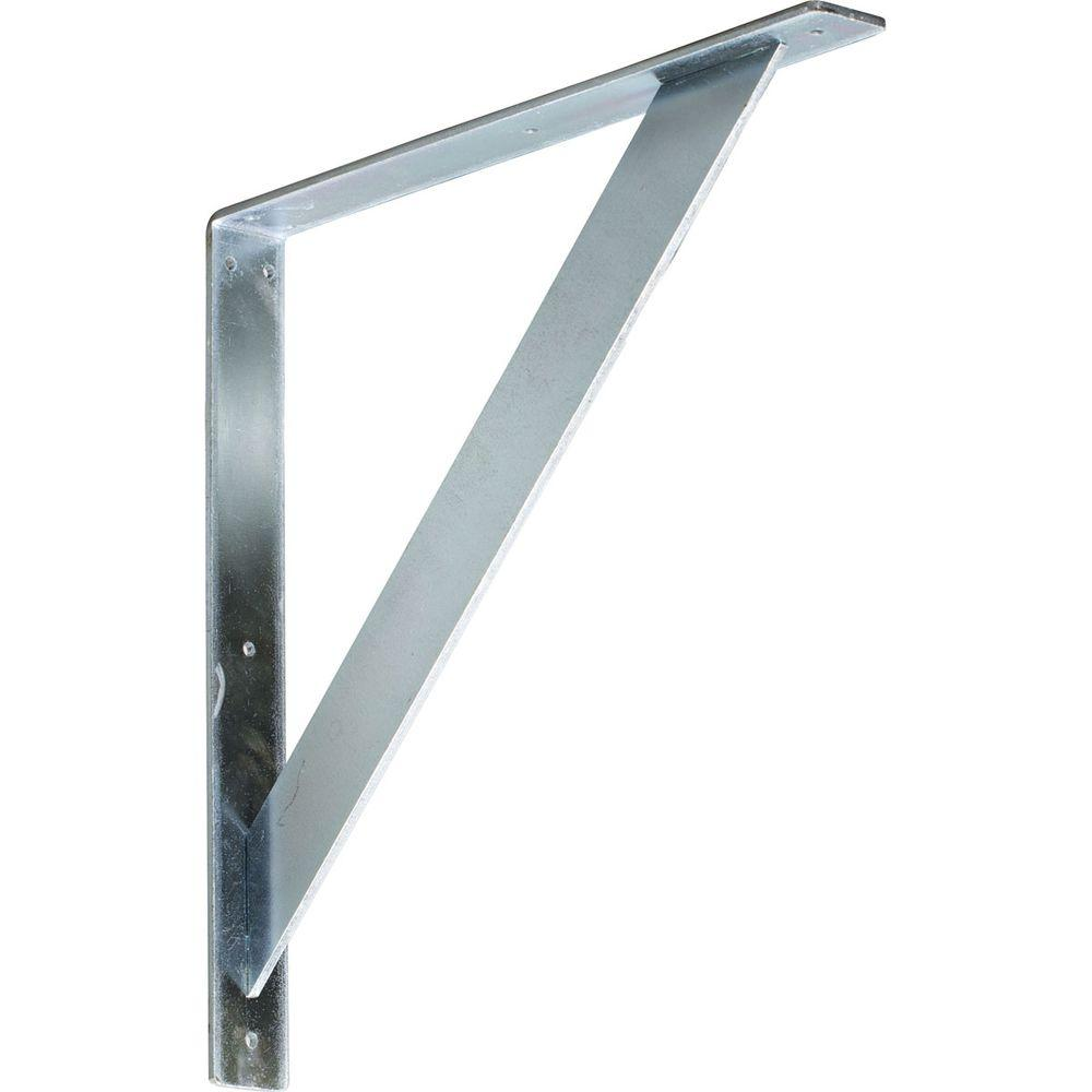 18 in. x 2 in. x 18 in. Steel Unfinished Metal