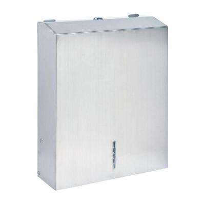 C Fold Multi Towel Cabinet In Silver