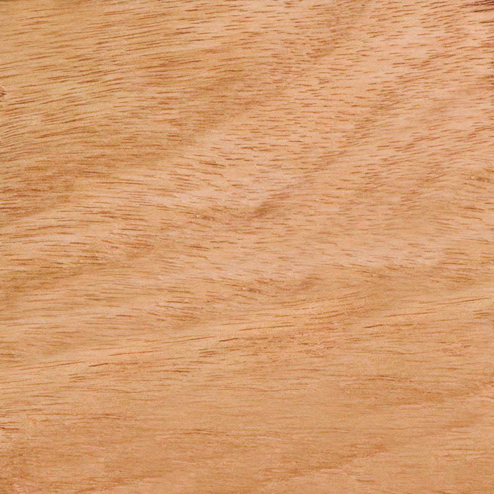 4 in. x 3 in. Wood Garage Door Sample in Unfinished Luan