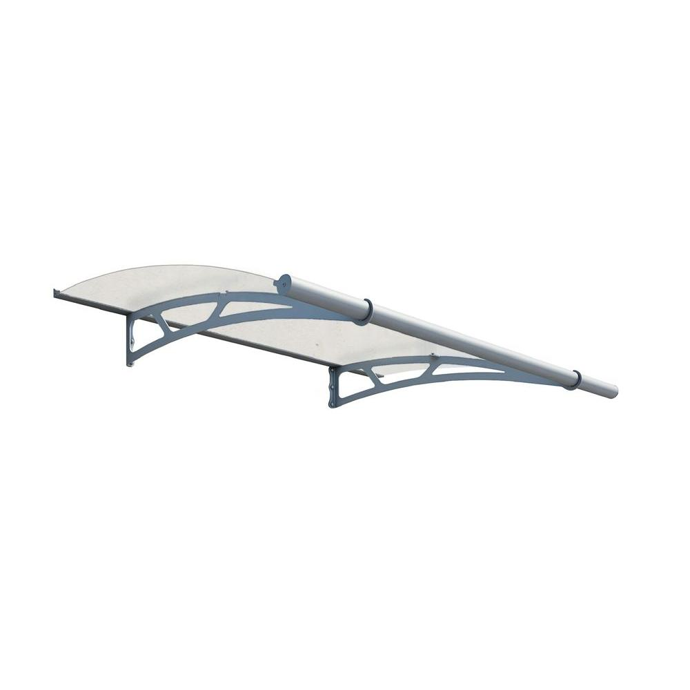 Palram Aquila 2050 Extra Frost Awning, Semi-Clear
