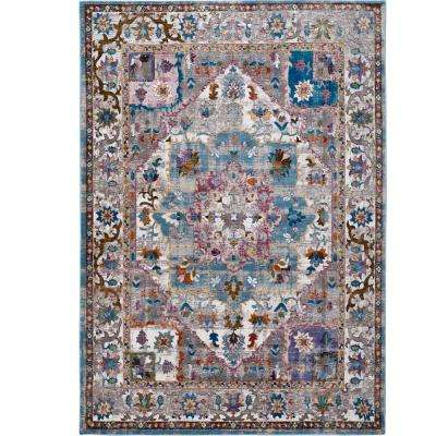 Parlin Ivory 9 ft. x 12 ft. Indoor Area Rug