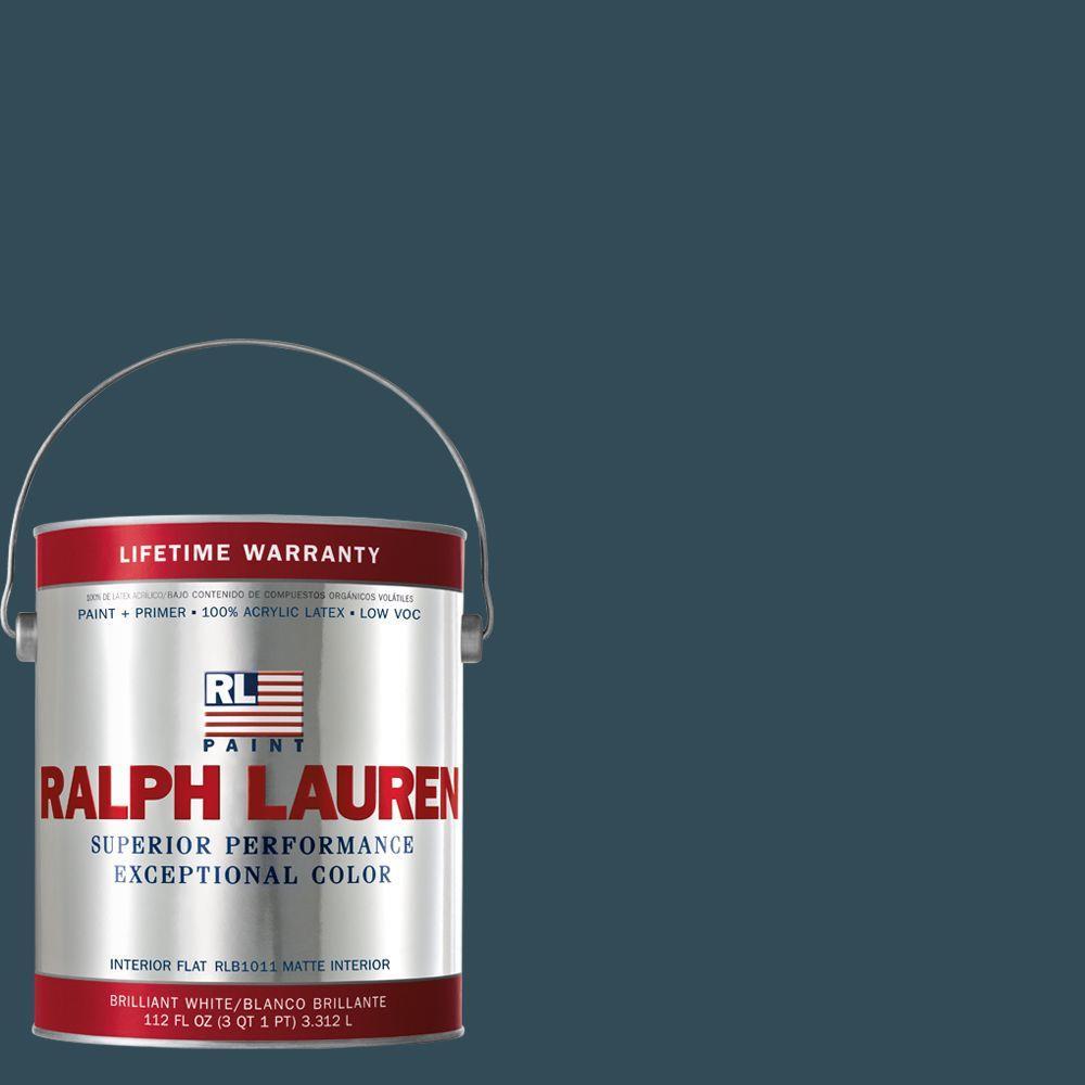 Ralph Lauren 1-gal. Oculus Blue Flat Interior Paint