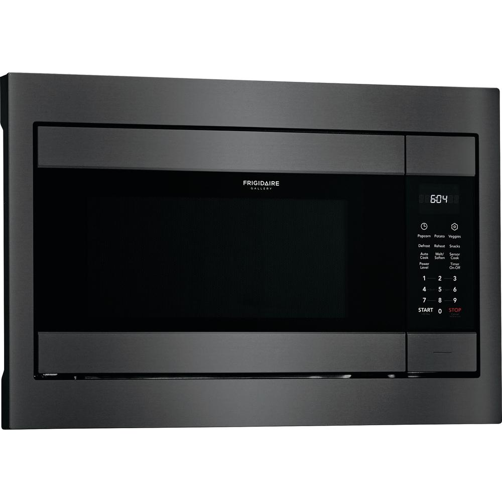 Frigidaire Gallery 2 Cu Ft Built In Microwave Black Stainless Steel With Sensor Cooking Technology