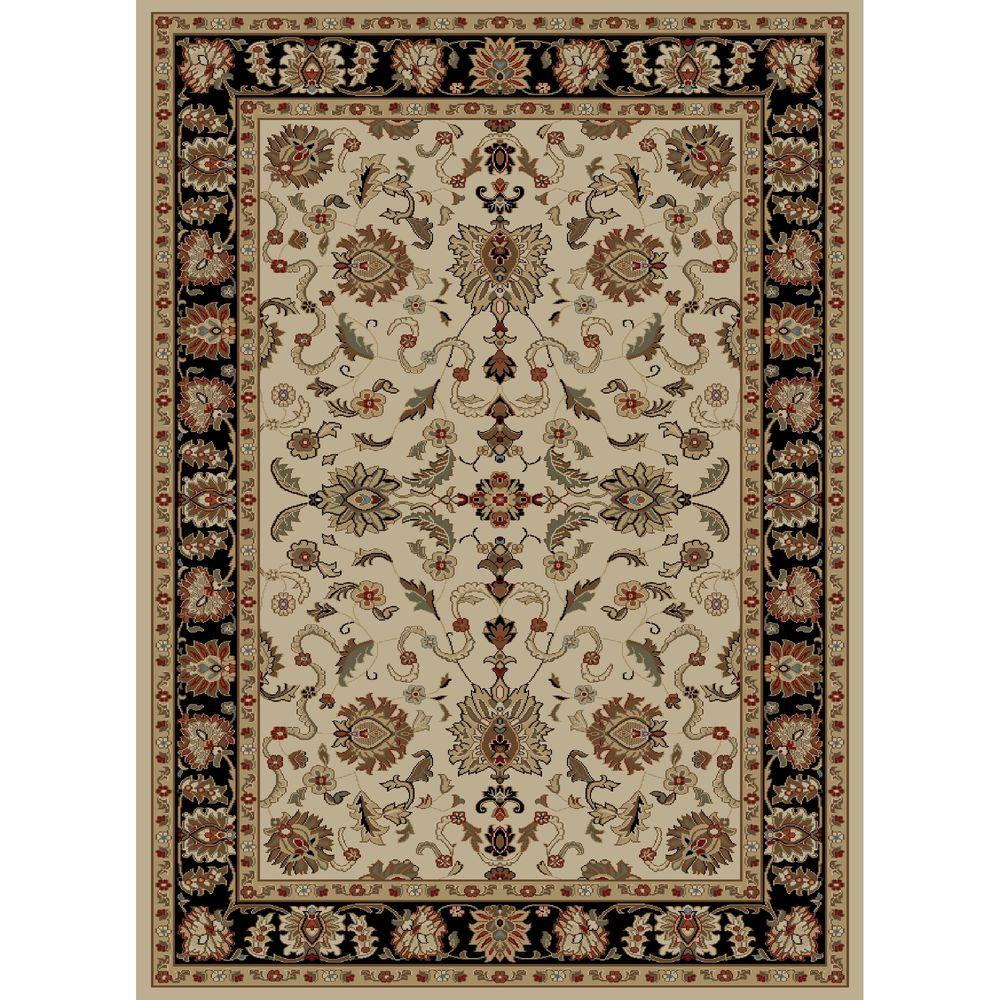 Ankara Agra Ivory 7 ft. 10 in. x 10 ft. 10