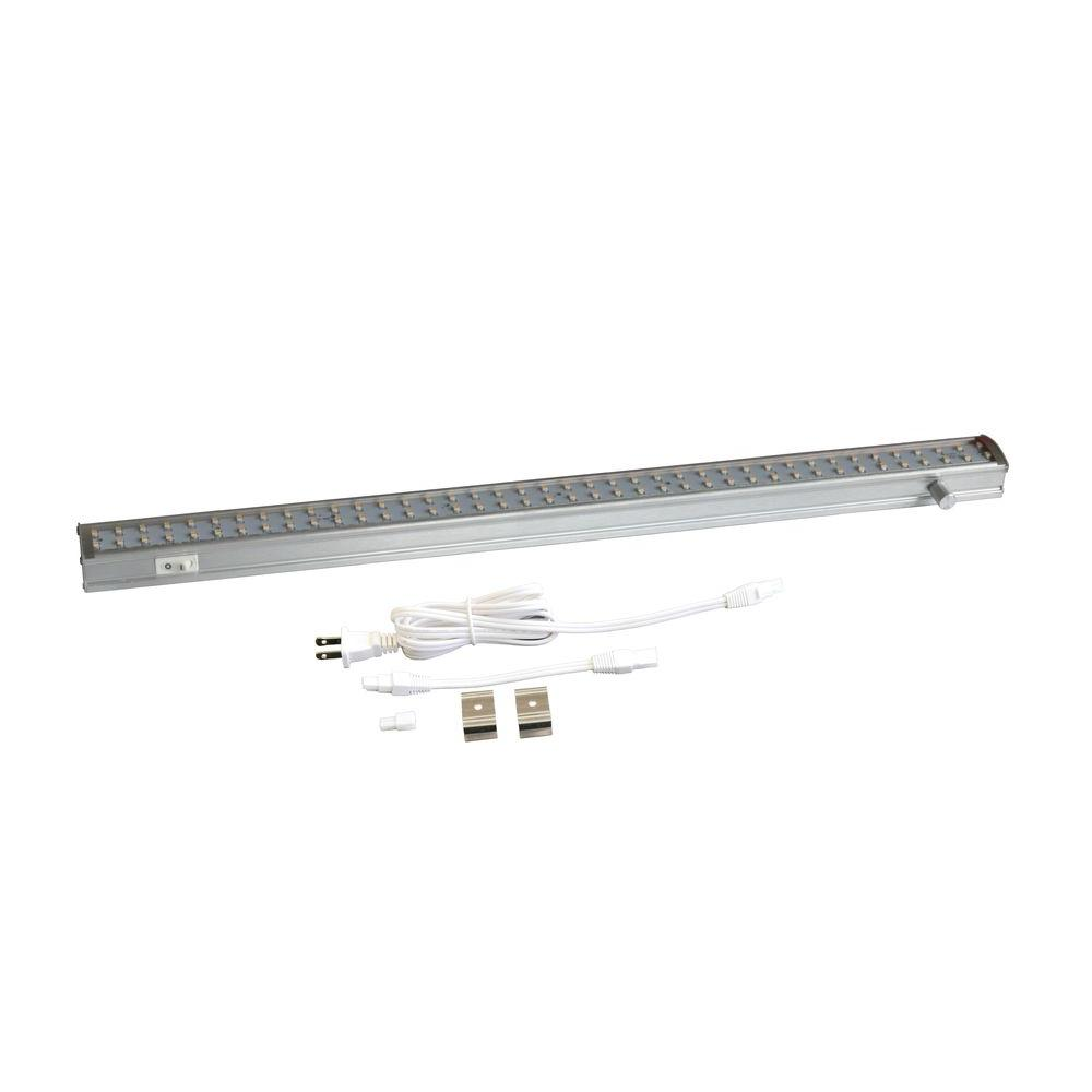 Tech Lighting Home Depot: Radionic Hi Tech Orly 19 In. Dimmable Aluminum Under