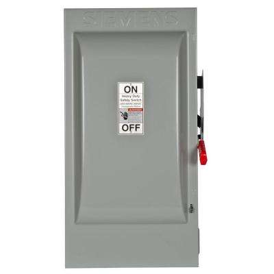 Heavy Duty 200 Amp 600-Volt 3-Pole Indoor Non-Fusible Safety Switch