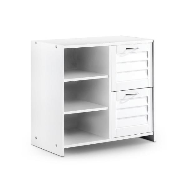 Bradford White 2-Drawer Chest with Shelf 27.5 in. H x 30 in. W x 15.25 in. D