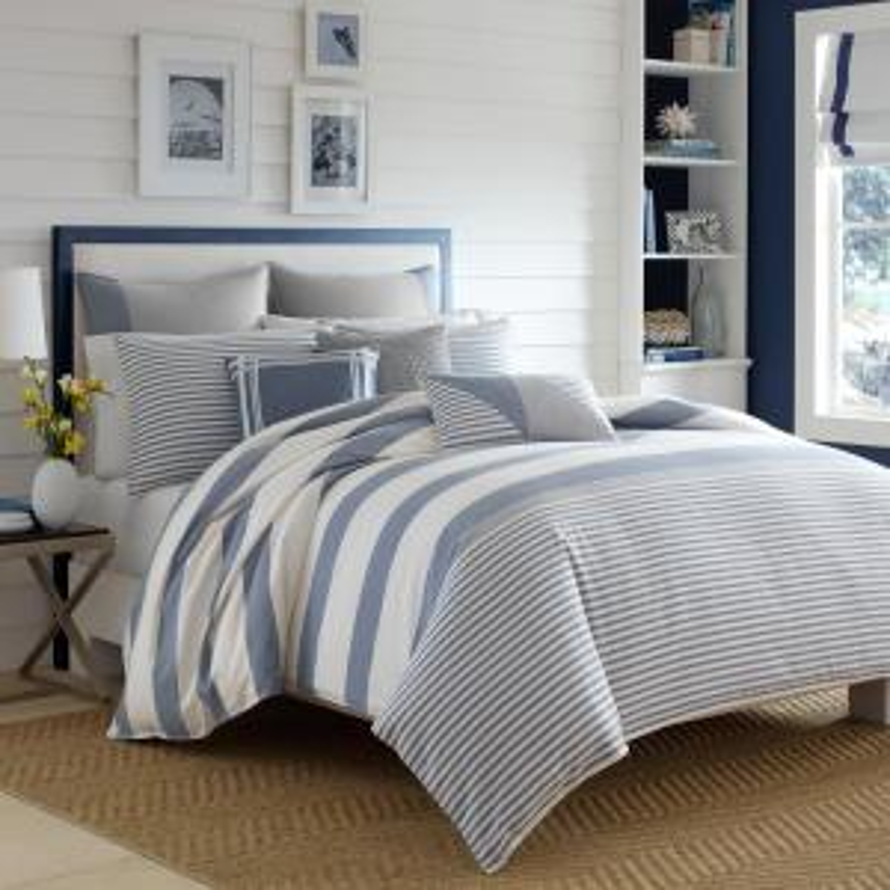 Fairwater 3-Piece Medium Blue King Comforter Set