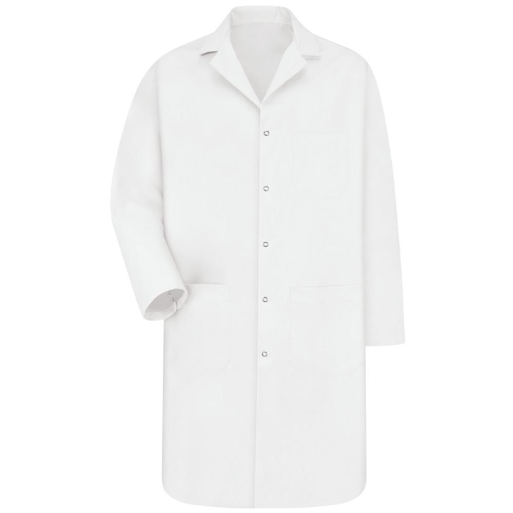 Men's Size 2XL White Lab Coat