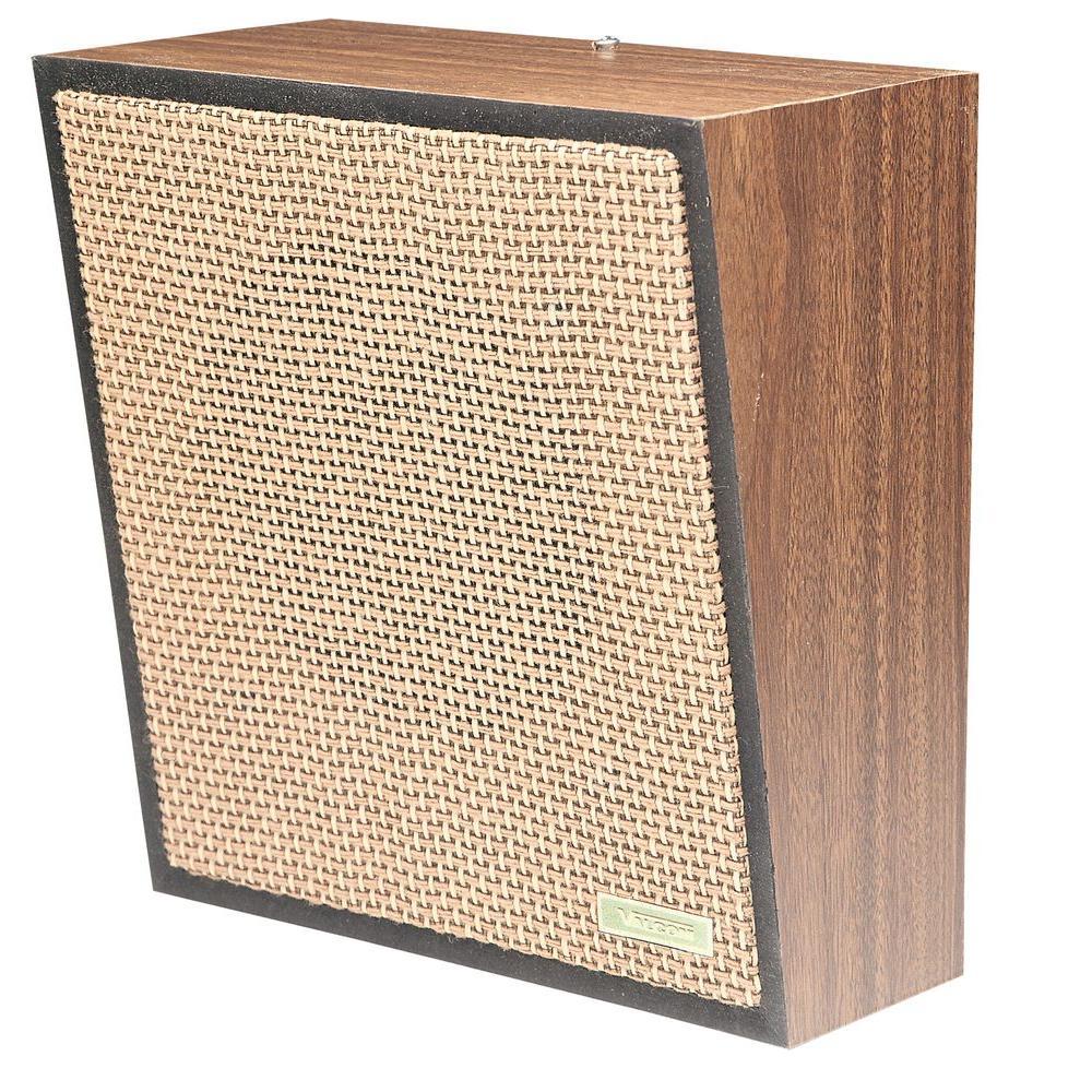 Valcom 1-Way Woodgrain Wall Speaker - Weave