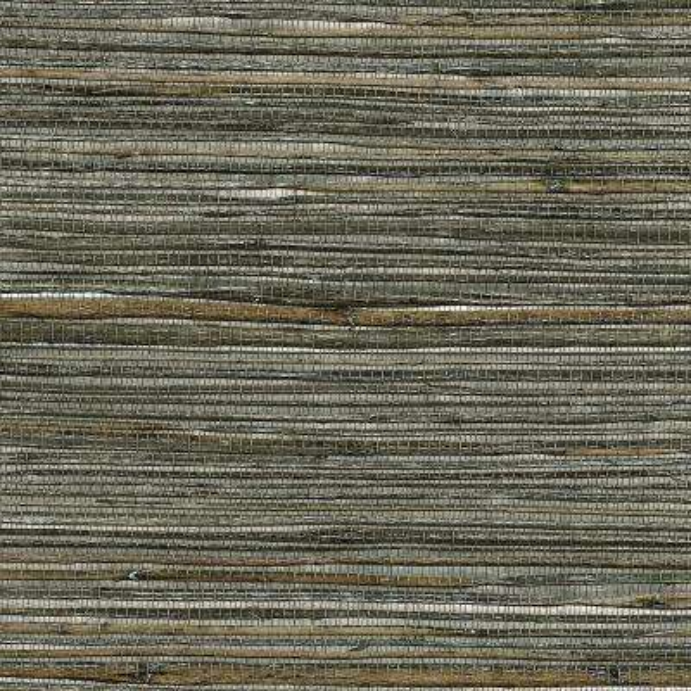 72 sq. ft. Fujian Silver Grass Cloth Wallpaper