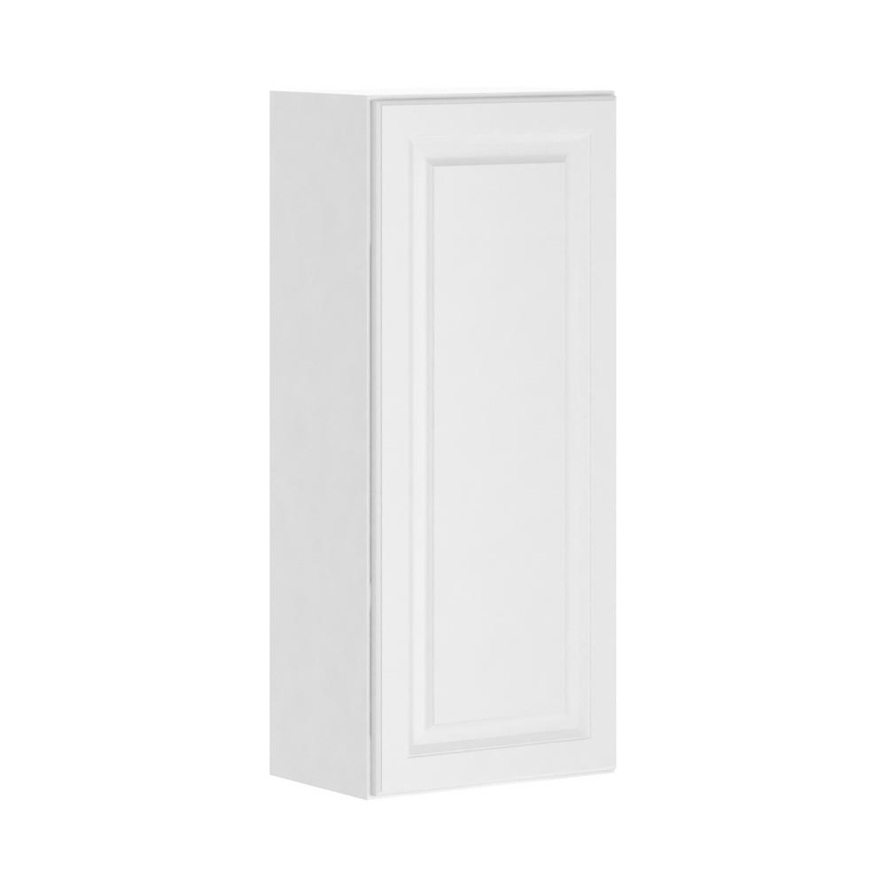 Hampton Bay Madison Assembled 18x42x12 In Wall Cabinet In