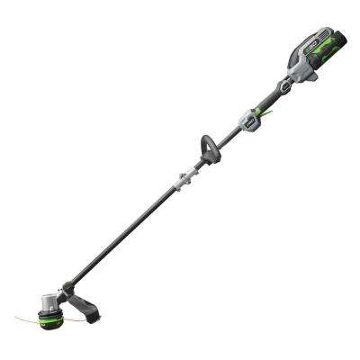 Reconditioned 15 in. 56V Lith-Ion Cordless Powerload Carbon Fiber Shaft String Trimmer, 2.5Ah Battery & Charger Included